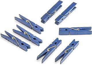 Darice Navy Blue, 1 7/8 inch Clothespins Medium Size Clothepins, 30 Piece