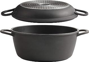 Trudeau 3-IN-1 Multi-Cooker/Roaster, Black, Large