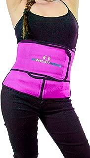 AWEARNESS Body Cincher Slimming for Men Women - Waist Trimmer Trainer Neoprene