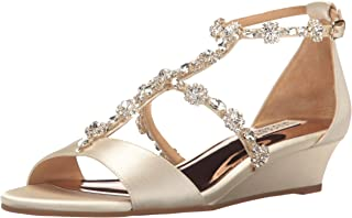 Badgley Mischka Women's Terry Wedge Sandal