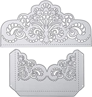 Hongma 20pcs 8mm Etiquetas Handmade Doble Cara de Metal Flor Ciruelo Tono Bronce Plateado para Manualidad Scrapbooking DIY