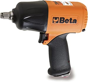 Beta 019270008 1927P Orange Ultra High Output 1750NM Torque 1 2 quot  Reversible Impact Wrench Double hammer impulse device made from composite material Three power adjustable screwing positions