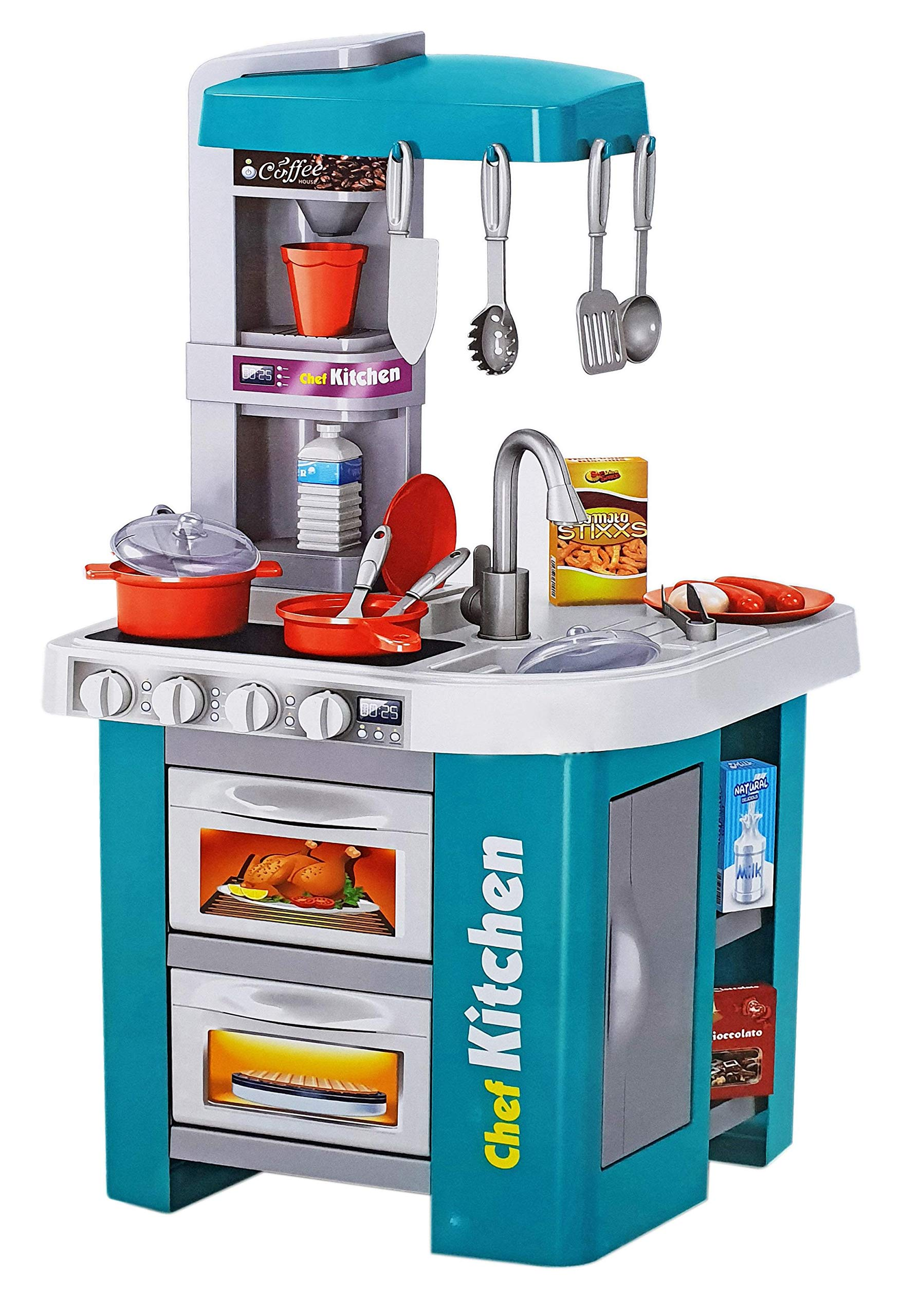 Talented Chef Kitchen Set Role Play Sink With Running Water Stove With Fire Light And Sound Playset Buy Online At Best Price In Ksa Souq Is Now Amazon Sa Toys