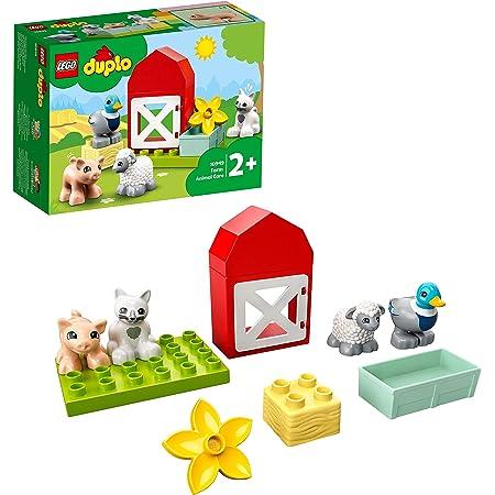 LEGODUPLOTownGliAnimalidellaFattoria,GiocattoliperBambini2+AnniconAnatra,Maiale,PecoraeGatto,10949