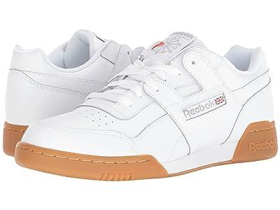 Reebok Lifestyle Workout Plus (White/Carbon/Classic Red/Reebok Royal/Gum) Men