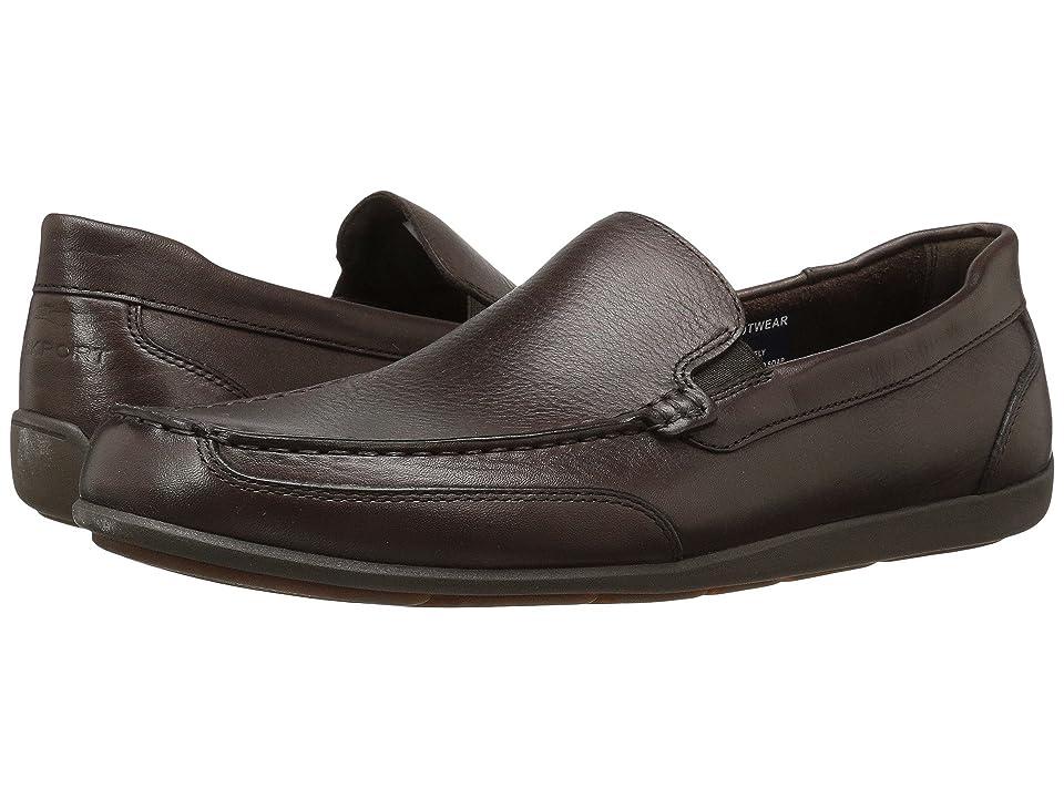 Rockport Bennett Lane 4 Venetian (Brown Leather) Men