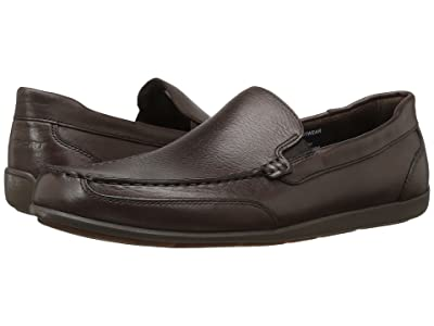 Rockport Bennett Lane 4 Venetian (Brown Leather) Men
