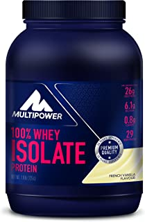 Multipower 100% Whey Isolate, Sabor French Vanilla - 725 gr