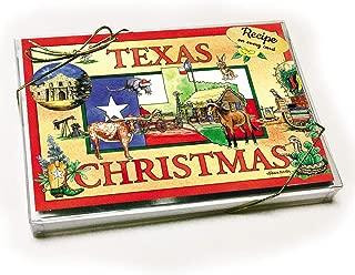 Texas Christmas Card with recipe