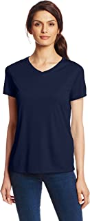 Hanes Sport Women's Cool DRI Performance V-Neck Tee