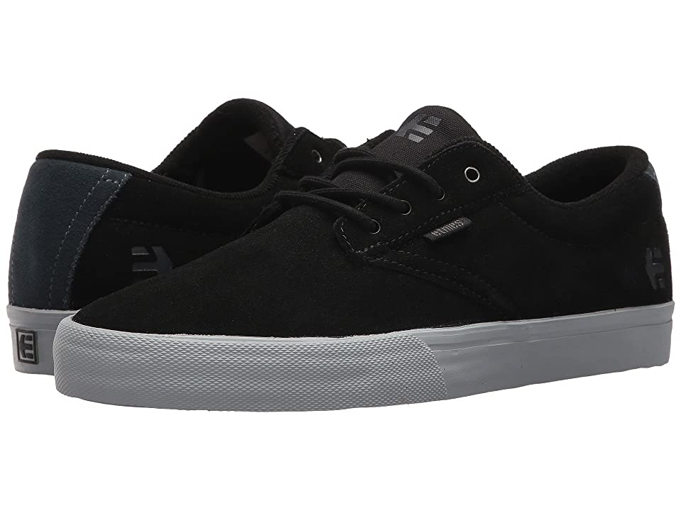 etnies Jameson Vulc (Black/Grey) Men's Skate Shoes