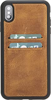 Evercare iPhone Xs Max Case - Handmade Premium Leather Slim Wallet Case with ID/Credit Card Holder Gift Boxed and Handmade...