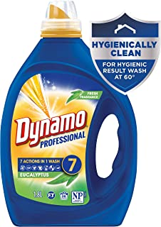 Dynamo Professional Eucalyptus with 7 Actions in 1 Wash, Liquid Laundry Detergent, 1.8 Litres, 36 Washloads