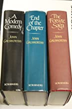 The Forsyte Chronicles--Three Volume Set (The Forsyte Saga; A Modern Comedy; End of the Chapter) (Book Club Edition)