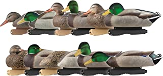 Avery Greenhead Gear Pro-Grade Duck Decoy,Mallards/Harvester Pack w/Flocked Drake Heads,Dozen