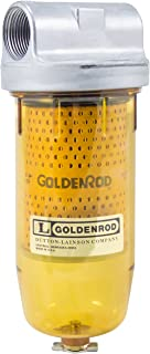 GOLDENROD 495 Bowl Fuel Tank Filter with 1