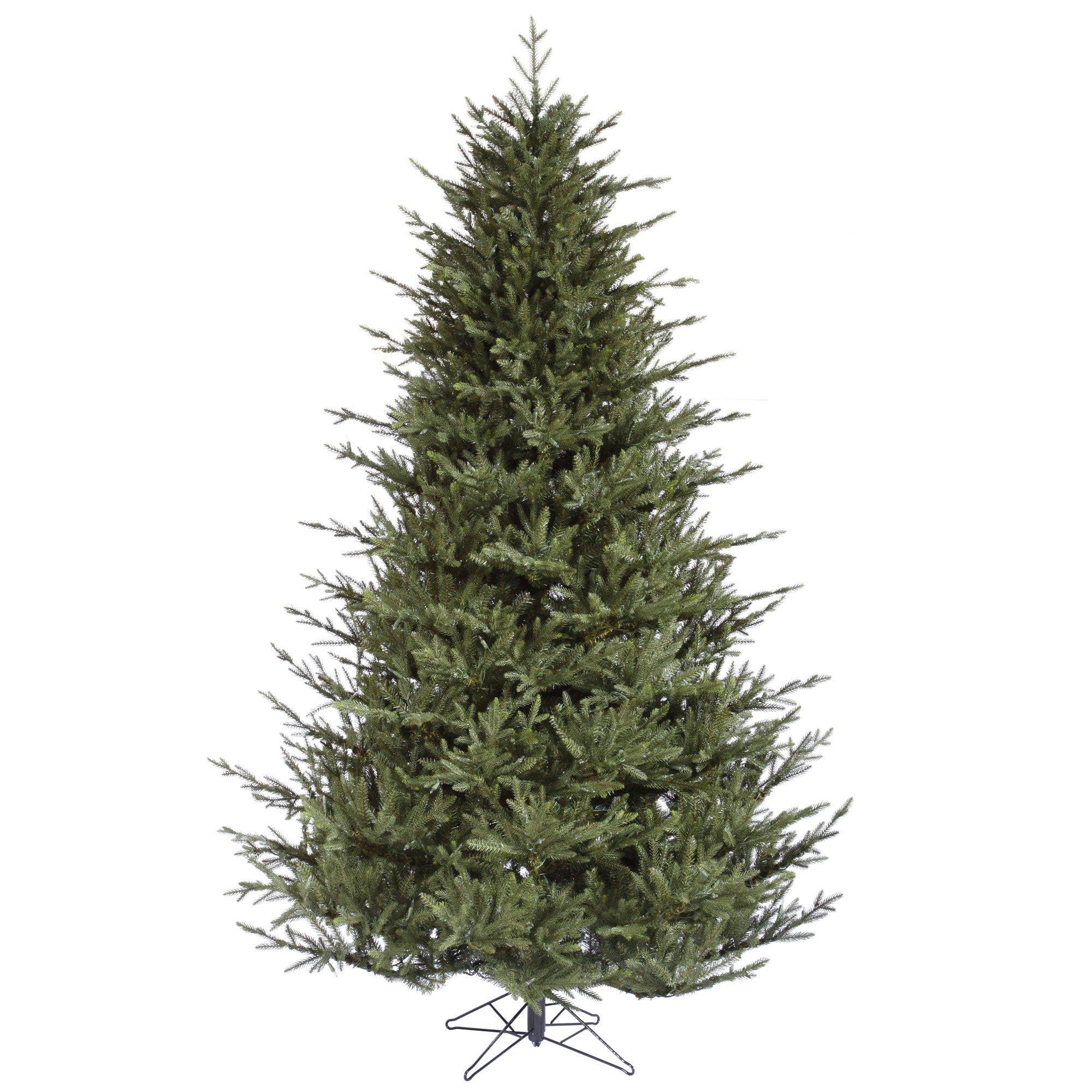 Amazon Com Vickerman 7 5 Itasca Frasier Artificial Christmas Tree Unlit Faux Christmas Tree Seasonal Indoor Home Decor Home Kitchen