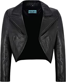 Best cropped leather jacket uk Reviews