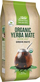 Organic Yerba Mate Loose Leaf Tea – 1.1 Pounds (17.6 Oz.) – Traditional South..
