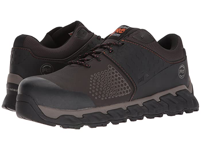Timberland PRO  Ridgework Composite Safety Toe Low (Brown) Mens Work Lace-up Boots