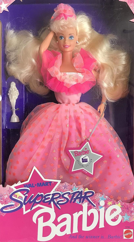 Amazon.com: Barbie Superstar Doll - WalMart Special Edition (1993 ...