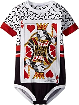 Dolce & Gabbana Kids - King of Hearts One-Piece (Infant)
