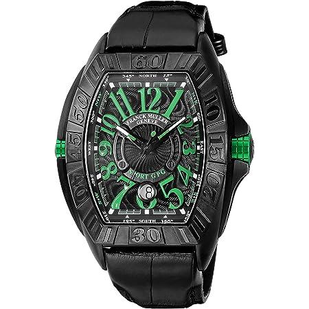 [フランク ミュラー] 腕時計 コンキスタドールグランプリ 8900SCDTGPG TTNRNRBK メンズ ブラック [並行輸入品]