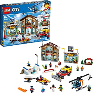 LEGO City Ski Resort 60203 Building Kit Snow Toy for Kids, New 2019 (806 Pieces)