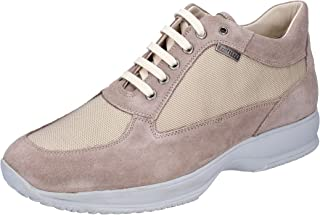TROTTERS Trainers Mens Suede Beige