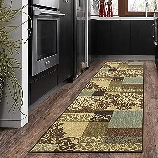 rug runners green