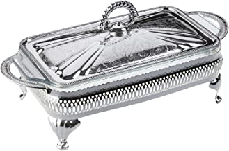Queen Anne Silver Plated Serving Dish Single - Lid & Oven Dish - 0/6301