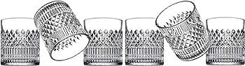 6-Pack Godinger Sutter Double Old Fashion Glass Set