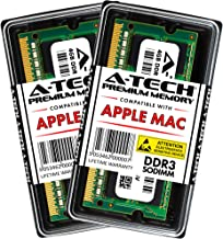 A-Tech for Apple 8GB Kit (2X 4GB) DDR3 1067MHz / 1066MHz PC3-8500 SODIMM Memory RAM Upgrade for MacBook, MacBook Pro, iMac, Mac Mini - (Late 2008, Early 2009, Mid 2009, Late 2009, Mid 2010) Models