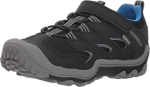 Merrell garçons' Chameleon 7 Access Faible A C WTRPF Hiking chaussures, noir, 11 grand US Peu Enfant