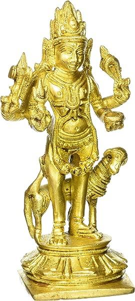 Gangesindia Lord Bhairav Brass Statue 680