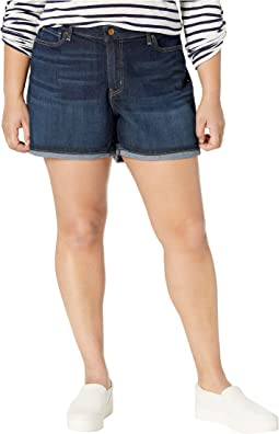 86191137cb8 Plus Size Mid-Rise Shorts. Like 9. Signature by Levi Strauss & Co. Gold  Label. Plus Size Mid-Rise Shorts