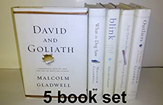Malcolm Galdwell's 5 Book Set: The Tipping Point, Blink, Outliers, What the Dog Saw, David and Goliath