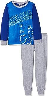男童切尔西足球睡衣套装