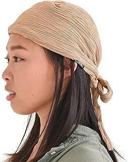 CHARM Pirate Hat Head Scarf - Turban Bandana Cap Boho Scarf Chic Adult Pirate Costume