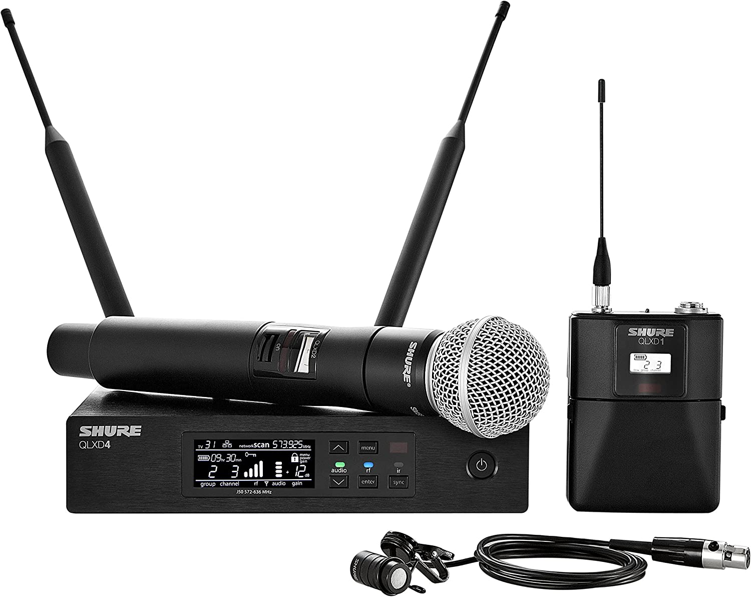 Recommendation Shure QLXD124 85 Dual Channel with SM System Wireless Luxury Microphone