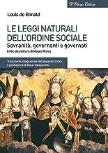Le leggi naturali dellordine sociale (Italian Edition)