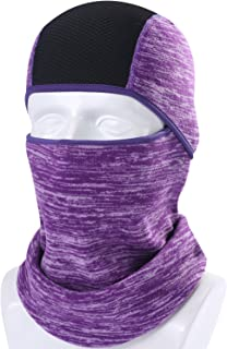 AXBXCX Windproof Ski Neck Warmer - Cold Weather Motorcycle Face Mask Cycling Balaclava