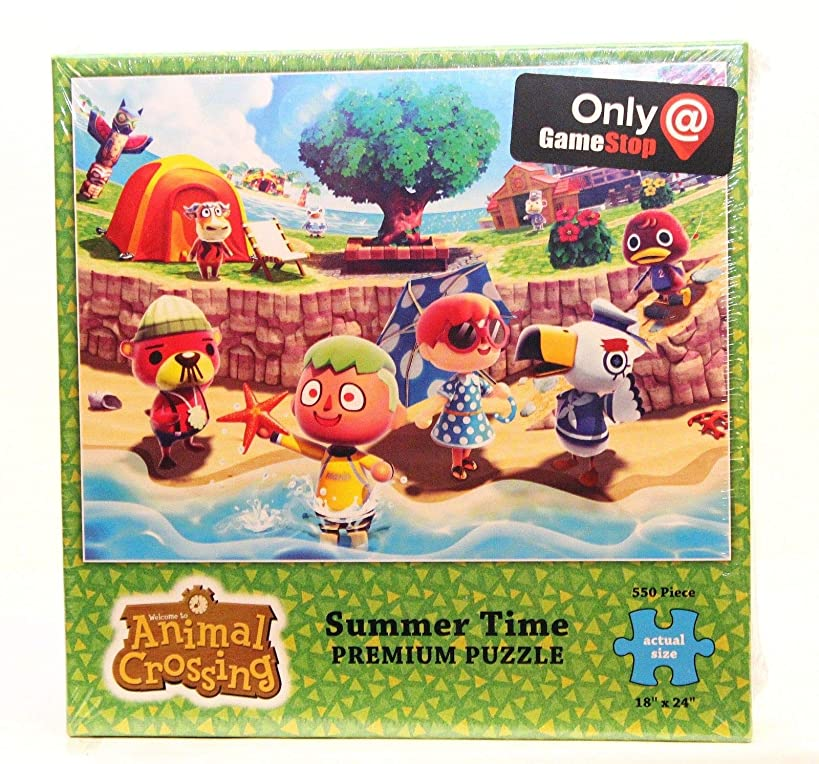 Animal Crossing Summer Time 550 Piece Puzzle Only at GameStop