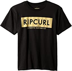 Rip Curl Kids - Zipper Premium Tee (Big Kids)