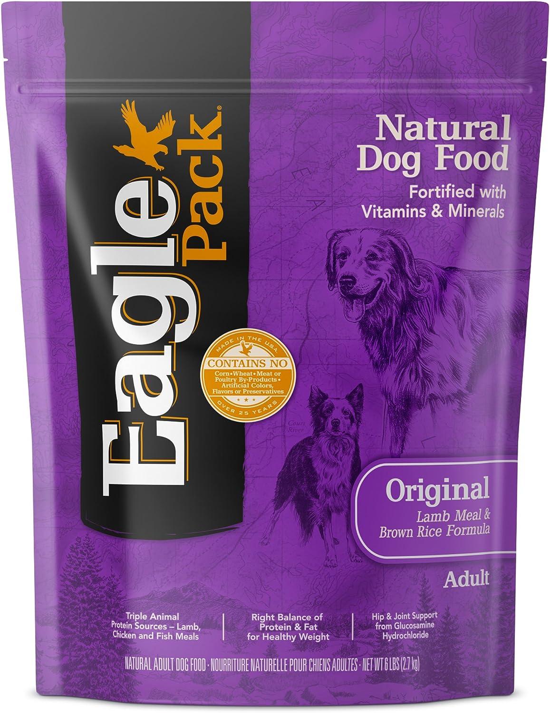 Eagle Pack Lamb & Rice Natural Dry Dog Food, 6Pound Bag