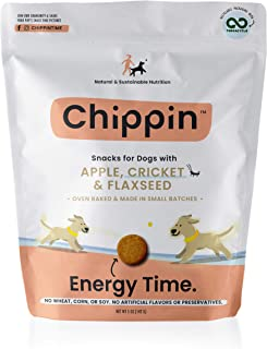 Chippin Cricket Dog Snacks - All Natural & Sustainable Protein Treats - 5oz Bag