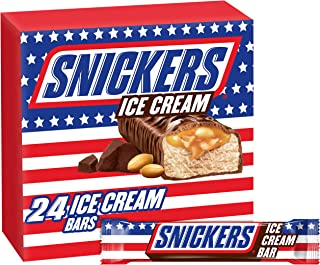 SNICKERS Ice Cream Bar, 2.8 oz (24 Count)