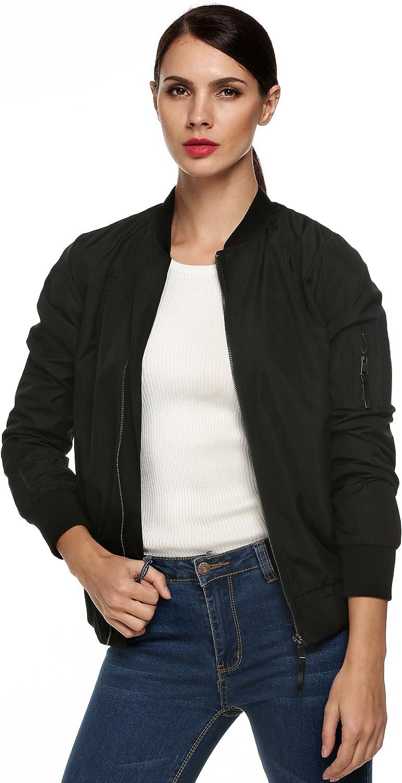 SummerRio Women's Long Sleeve Jacket Lightweight Button Lapel Collar Short Trench Coat