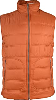 03938076783 Banana Republic Mens Puffer Vest Tabasco Medium