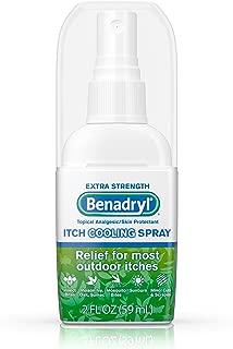 Best benadryl itch cooling spray Reviews